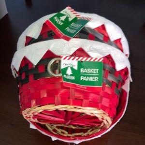 3 Christmas basket